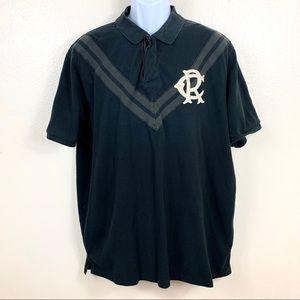 Polo Ralph Lauren Men's shirt sleeve Black XXL